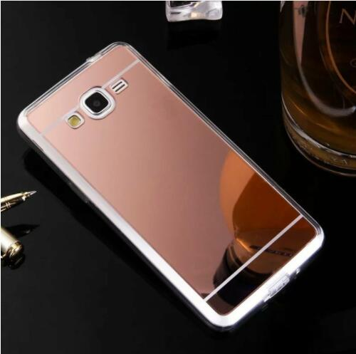 pretty nice 2bde0 d0b53 US $1.95 |For Samsung Galaxy J2 Prime Case Mirror Phone Case Soft TPU Back  Cover shell For Samsung J2 Prime -in Half-wrapped Cases from Cellphones &  ...