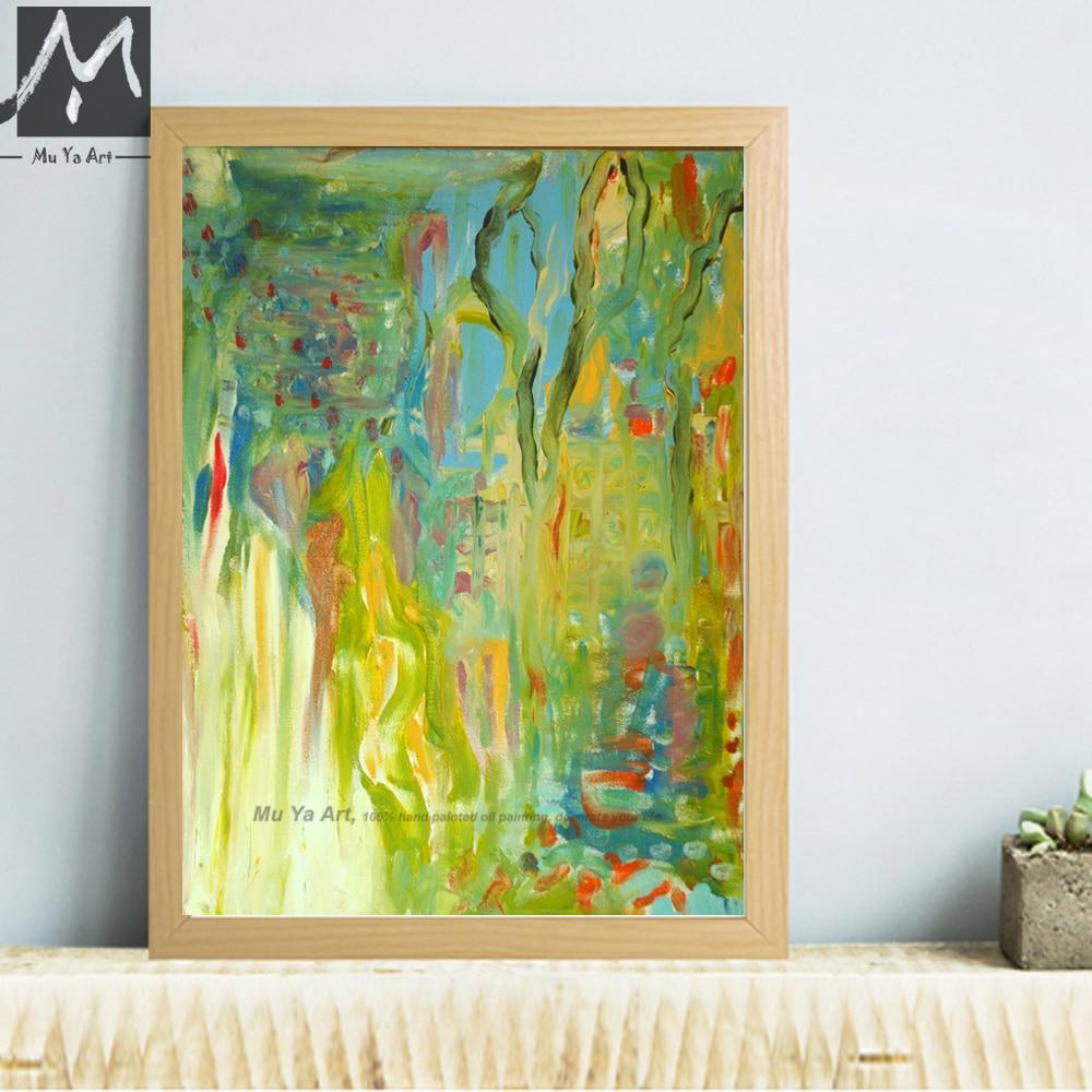 Aliexpress.com : Buy Abstract modern canvas wall art handmade ...