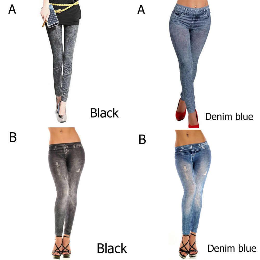f5fc9bf87a254 ... Hot 1 Pc New Sexy Women Denim Skinny Pants Lady High Waist Stretch Jeans  4 Styles