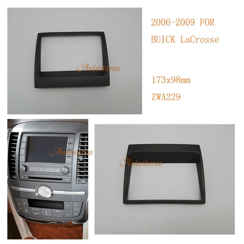 autostereo car audio facia for buick lacrosse 2006 2009. Black Bedroom Furniture Sets. Home Design Ideas