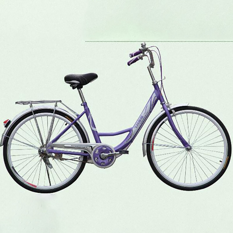 Selling 24 Inch High-grade Lightweight Bicycle Women's Bicycle Leisure Straight Handlebar Bicycle Accessories City Bike