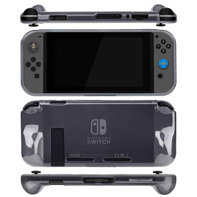 Nintendos Switch Storage Carrying Case + Nintend Switch Screen Protetor Galss Film + Soft TPU Case for Nintendo Accessories   4