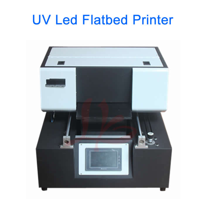 LY A43 touch screen UV flatbed Printer max print size 210x400mm print height 200mm 6 colors nozzle Max resolution 1440 DPI high quality uv flatbed printer manufacturing print on metal