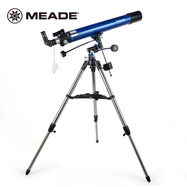 MEADE POLARIS 80EQ Astronomical Telescope Professional Viewing Star Moon HD Student Children Popular Science Learning