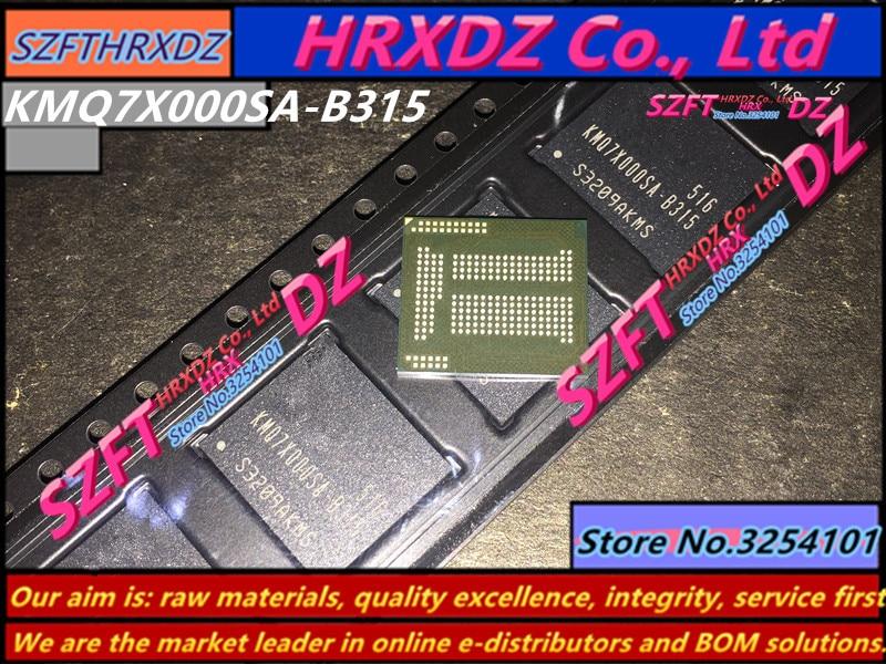 SZFTHRXDZ       100% new original KMQ7X000SA-B315 BGA 64+8 EMCP KMQ7X000SA B315 free shipping 1pcs lot kmq7x000sa b315 kmq7x000sa emmc