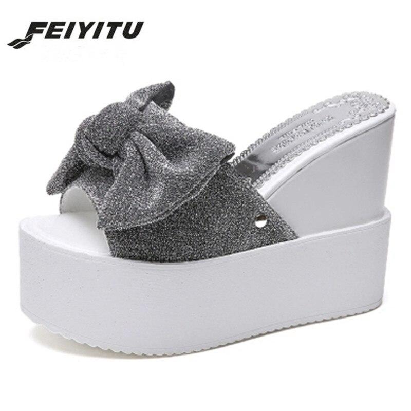 dc8bc6855f1 Cheap Feitu verano nuevo estilo llegó sandalias sexis con plataforma para  mujer moda tacones altos mujer