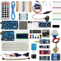 HOT SALE Super Starter Kit For Arduino UNO R3 & Mega2560 Board for 1602 LCD Servo Motor Relay Learning Basic Suite