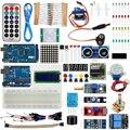 Venta caliente Kit de iniciación para Arduino UNO R3 y Mega2560 junta para 1602 LCD Servo Motor de aprendizaje Suite básica