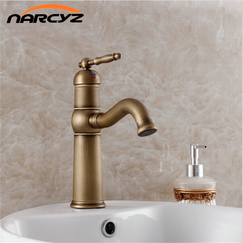 Fast Shipping Discount Price Fitting Luxurious Decoration Basin Sink  Antique Faucet For Bathroom 7402(China