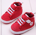Venta caliente Impresión de la letra de moda bebé zapatos niño zapatos de los niños Conveniente para el bebé 11-13 cm