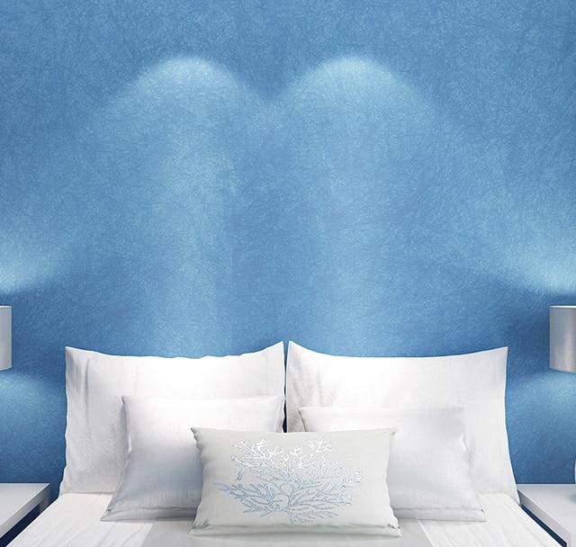 Mediterranen Stil Sky Blaue Tapete Moderne Reine Farbe