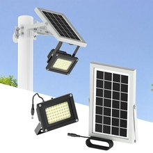 Solar Lamp Outdoor LED Panel Garden light 20W Microwave Radar Sensor Led Waterproof Powerful
