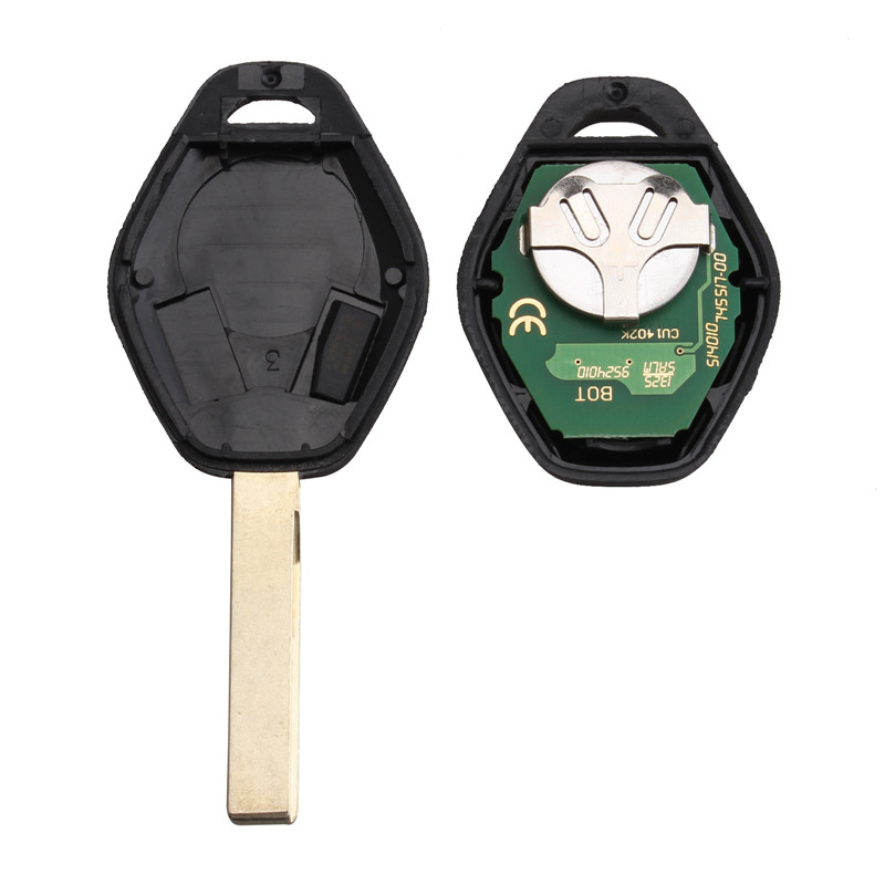 Image 2 - GORBIN 433/315Mhz Remote Car Key For BMW 325 330 318 525 530 540 E38 E39 E46 M5 X3 X5 M5 EWS System ID44/7935 Chip HU92 Blade-in Car Key from Automobiles & Motorcycles