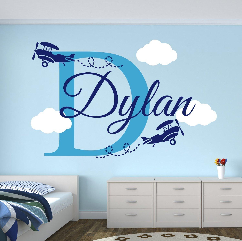 Online Get Cheap Airplane Nursery Aliexpresscom Alibaba Group - Custom vinyl wall decals cheap