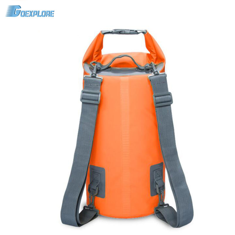 Goexplore 15L 20L Outdoor swimming Waterproof Bag Camping Rafting Storage Dry Bag with Adjustable Strap Hook Inflatable Backpack ...