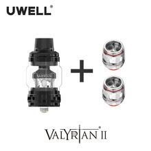 UWELL Valyrian II Tank with 1 Pack Valyrina Replacement Coil UN2 Single/Dual/Triple Meshed E-cigarette Vape