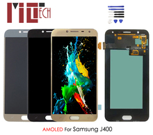 AMOLED For Samsung Galaxy J4 J400 J400F SM-J400F LCD Display OLED Touch Screen Digitizer Assembly