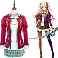 The Legend of Heroes: Trails of Cold Steel Alisa Reinford Cosplay Costume Uniform Dress
