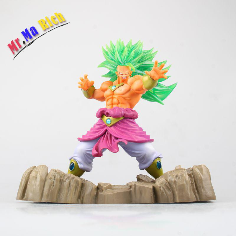 Anime Figure Super Saiyan Broli Juguetes Pvc Action Figure Brinquedos Collectible Model Doll Kids Toys 17cm 2017 anime transformation 4 cars robots toys pvc action figures toys brinquedos model boy toy christmas gifts juguetes cm