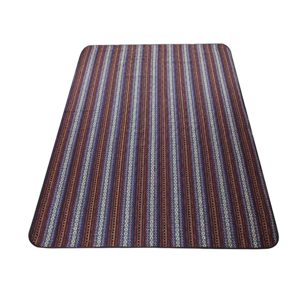 Portable imperméable à l'eau conception lavable été plage Camping couverture pique-nique tapis pliable en plein air voyage pique-nique tapis 200*140*0.3 CM