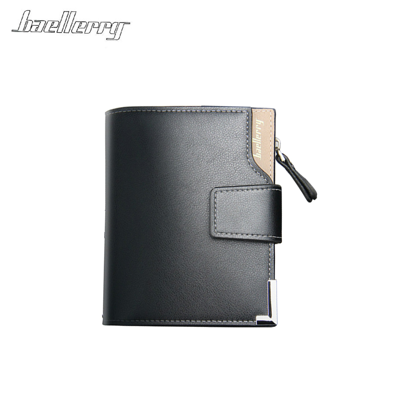 e706eba3b1cc Baellerry brand Wallet men leather men wallets purse short male clutch  leather wallet mens money bag quality guarantee-in Wallets from Luggage &  Bags on ...