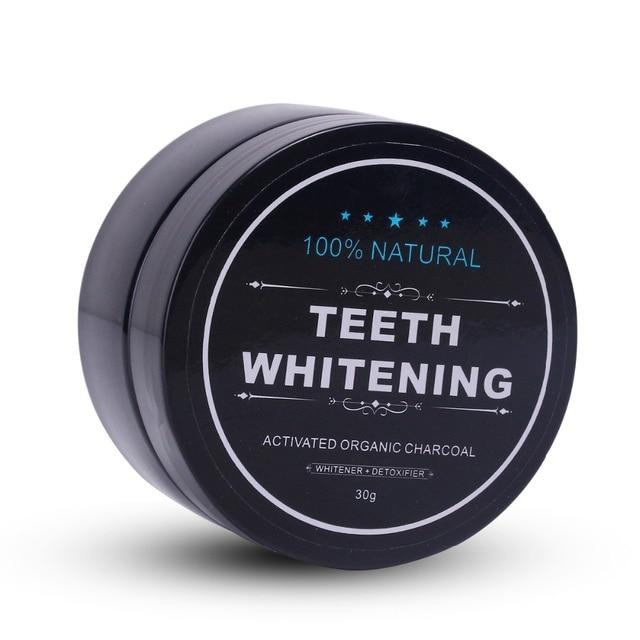 Sbiancamento dei denti di Bambù del Carbone di Legna Spazzolino a setole morbide di Legno Spazzolino Da Denti Polvere di Dente Igiene Orale Pulizia 3
