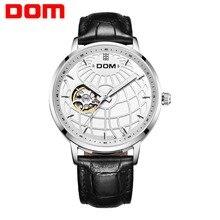 DOM Для мужчин часы 2018 Элитный бренд часы Для мужчин механические Водонепроницаемый Новый Дизайн Автоматическое Для мужчин s наручные часы причинная M-8100