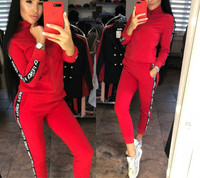 2 Piece Set Sexy Bodycon Tracksuit Women Full Sleeve Hoodies Pullover Top Yellow Pants Suits Casual Clothes Outfits for Women