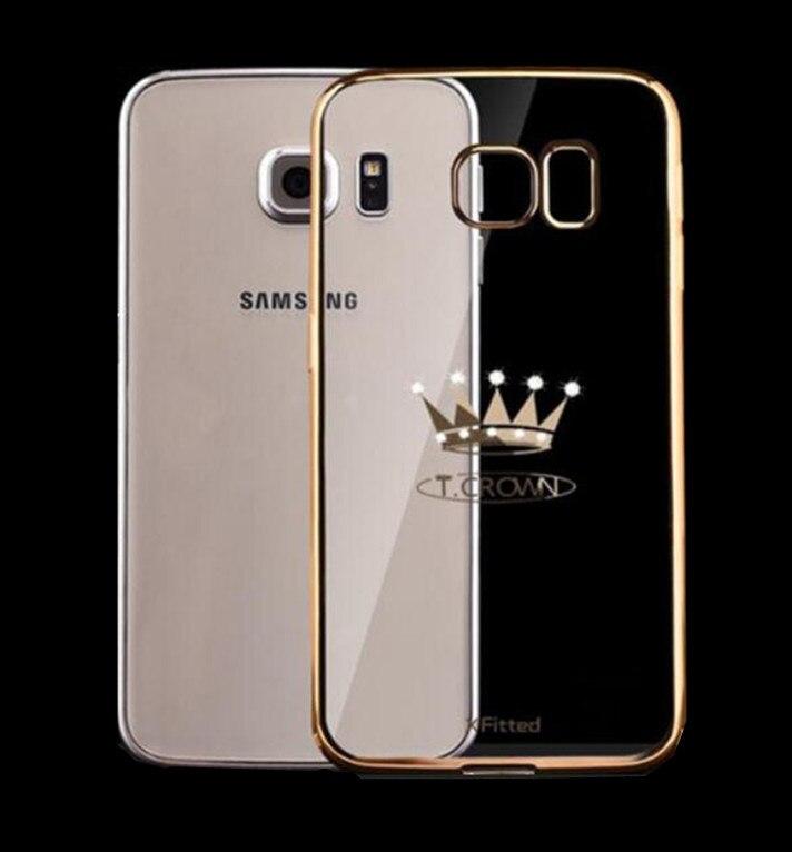 the latest 9a0e2 ca2b1 US $12.89 |Luxury Original X Fitted Swarovski Plating TPU Case For Samsung  Galaxy S7 S7 Edge Crystal Diamond TPU Back Case Cover on Aliexpress.com |  ...