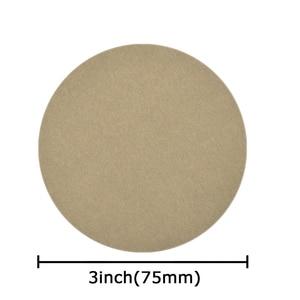 Image 5 - POLIWELL 30PCS 3 Inch Grit 60/240/3000/5000/10000 75mm Schleifen Discs Silizium hartmetall Runde Beflockung Schleifpapier Auto Polieren Werkzeug