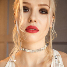 Simple Newest fashion jewelry accessories Bohemia crystal choker necklace for couple lovers N221