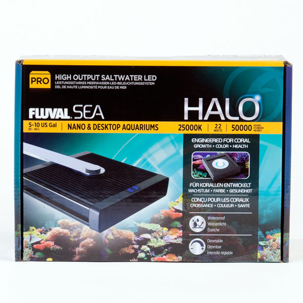 Hagen HALO FLUVAL SEA Soft Coral In Sea Water Fish Tank. The Light LED Halogen Clip Lamp Of Halo Reef Rock Of Hard Bone Coral