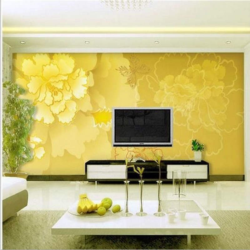 beibehang 3d stereoscopic wallpaper Chinese seamless s