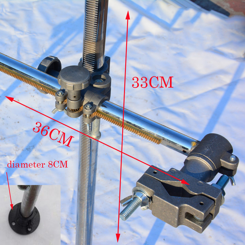 Welding Torch Holder Support Mig Gun Holder Clamp Mountings For MIG MAG CO2