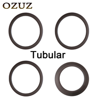 Factory Sales OZUZ 3K Matte rims Carbon Fiber Rims 38mm 50mm 88mm Profile Tubular 23mm Width 20Holes or 24Holes 700C Carbon Rim