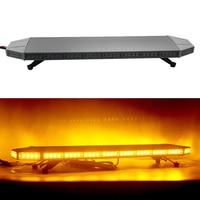 88W Car LED Strobe Warning Light Traffic Signal Light Bar for 12V 24V Automobiles Truck Trailer Firemen Flash Lamp HEHEMM