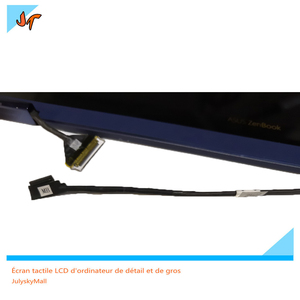 """Image 2 - 13.3"""" Touch LCD Display for ASUS ZenBook Flip S UX370UA UX370U UX370UAF UX370UAR Screen, Blue Upper Upper LCD Screen Replacement"""