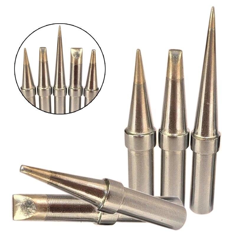 Pointes de fer à souder Durable, 5 pièces, kit de pointes de soudure pour Weller WESD51 WESD50, WCC100