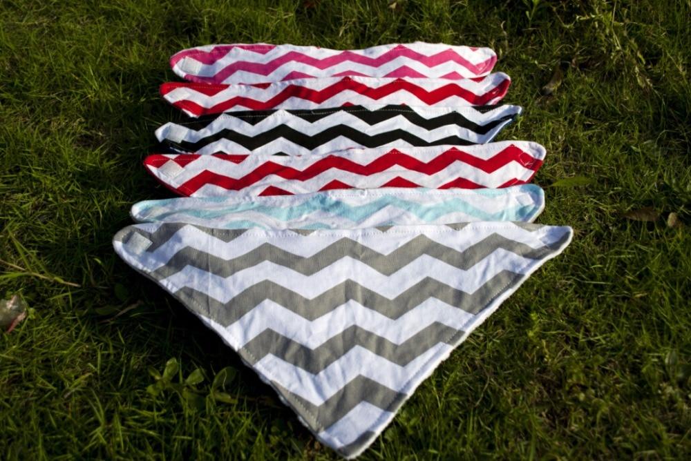 new style chevron boys navy chevron cotton minky bandana bib baby silicone bib kids bib manufacturer