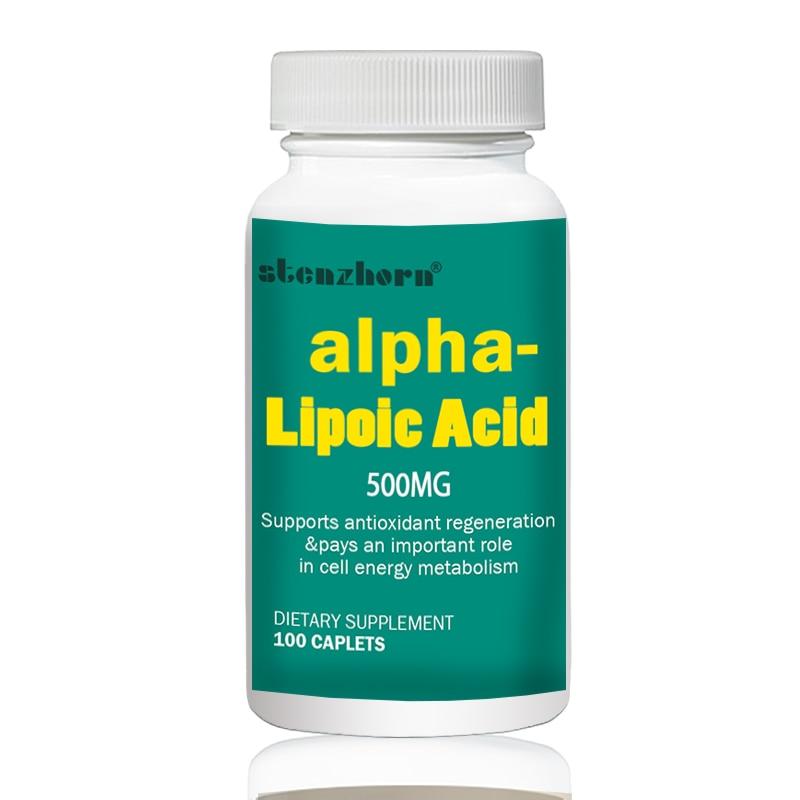 Alpha Lipoic Acid 500mg 100pcs Universal Antioxidant