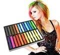Temporal 24 colores lápices de colores para no tóxico color de pelo del tinte pasteles bricolaje herramientas de peinado