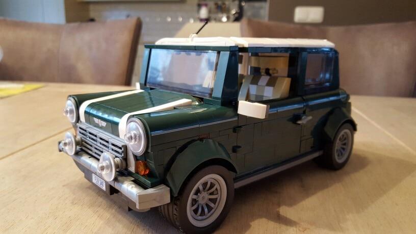 Nouveau Lepin 21002 Idées Série La Mini Cooper Modèle Blocs De