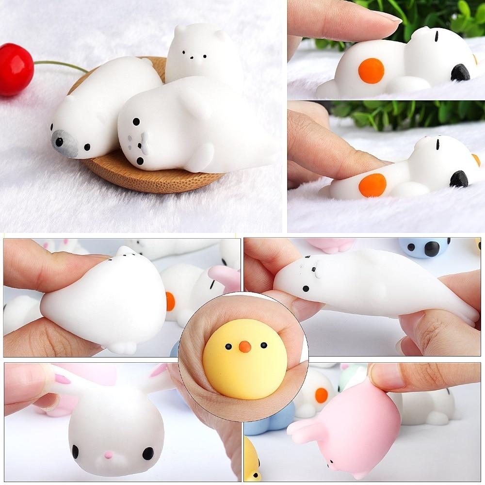 Kids Toy Package Gift Anti-Stress Slow-Mochi Squishies Cute Animal Cartoon New-Fashion img5