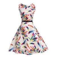 11 צבעי בנות לילדים שמלה חדשה קיץ בגדים 2017 בגדים מפוארים בני נוער כותנה שמלות נסיכת מסיבה וחתונה