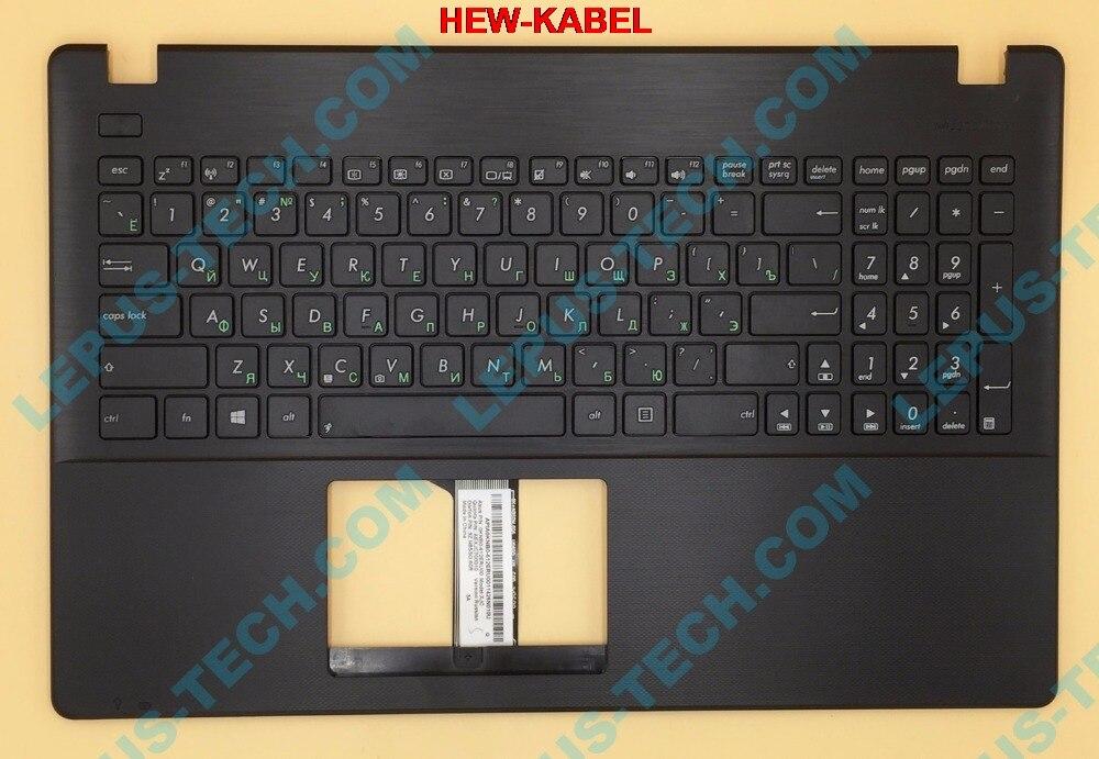 RU Russische Tastatur für ASUS X551 X551CA X551MA X551MAV tastatur mit palmrest top case schwarz farbe 90NB0341-R30190