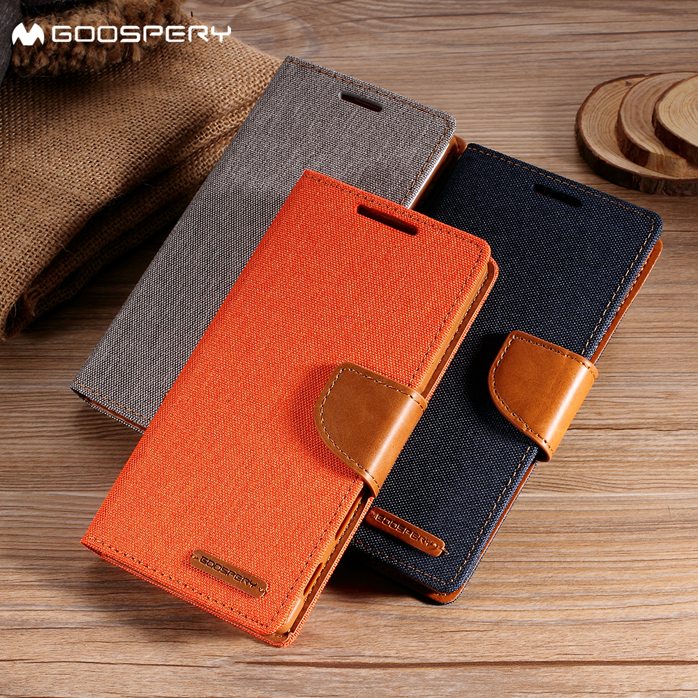 Mercury Goospery For Samsung Galaxy A8 Plus 2018 Case Canvas S6 Diary Red Leather Wallet Flip Cover Black In Cases From Cellphones
