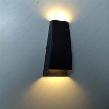 5W LED Exterior Wall Sconces Up/Down Light Waterproof Door Patio Garage Balcony Lamp Fixture