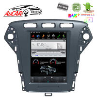 Tesla Style 10.4 for Ford Mondeo 2011 2013 car multimedia player GPS System radio Bluetooth WIFI 4G Vertical Stereo IPS