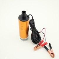 Oil Pump Submersible Diesel Fuel Water 30L Min Electric Diesel Pump Aluminium Alloy Oil Pump