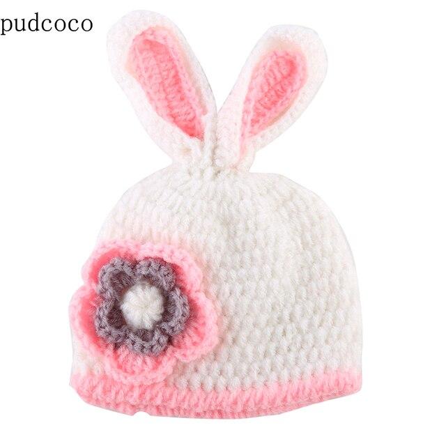 2017 newborn Boy Girl sombreros del bebé lindo ratón conejo sombrero ...